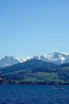 Attersee, Salzkammergut, Autriche #Austria Rando, Week End, Mountains, Travel, Austria, Automobile, Viajes, Destinations, Traveling