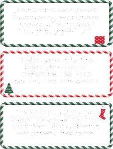 Christmas Scavenger Hunt Clues Free Printable StuffedSuitcase.com