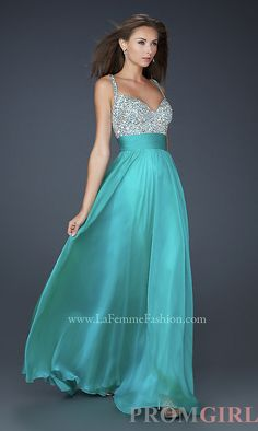 I wish... La Femme 16802 Floor Length Prom Dress LF-16802pc