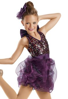 Sequin Bubble Skirt Dress -Weissman Costumes