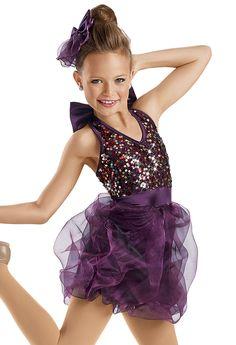 Sequin Bubble Skirt Dress -Weissman Costumes
