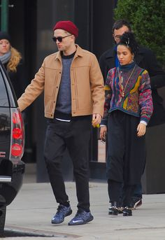 Robert Pattinson and FKA twigs While they've only been dating for a matter of months, FKA twigs and R-Pattz are already one of the world's buzziest couples. The duo made a splash down in Miami Beach for Art Basel where twigs stole the spotlight with her performance, and they're being dubbed the millennial answer to Johnny and Kate.