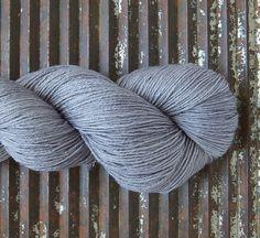 BFL/Silk Superwash Fingering -ISLINGTON...'Blighty' - Kettle Yarn Co.
