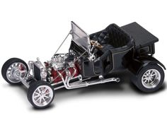 1923 Ford T-Bucket Roadster Diecast Scale Model by Yat Ming