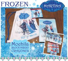 Personalizado congelados Cumpleaños Camiseta Chicos Chicas edad superior Tamaño Elsa Anna la OLAF De Regalo