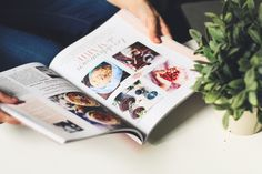 3 magazines : Flow, As You Like and Vita Food