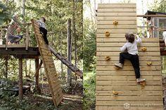 Huikea leikkipaikka pojille omalla pihalla » Krista Keltanen Blog
