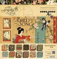G45 paper bird song collection12x12 Paper Pad includes two each of the 12 double-sided papersI ship within 2-3 business days after I receipt your payment.Please also note that postage time can be variable and the above is just for guidance. Parcel will be sent using regular post service.