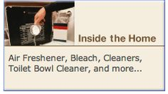 The Household Products Database is a great way to learn what is in your household products before you buy them. For many products we use at home ingredients do not have to be listed on the label.