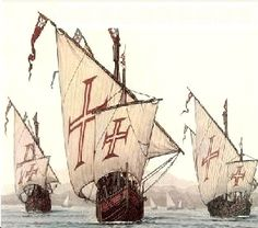 """Portuguese """"Caravela"""" - age of discovery - 15th century"""
