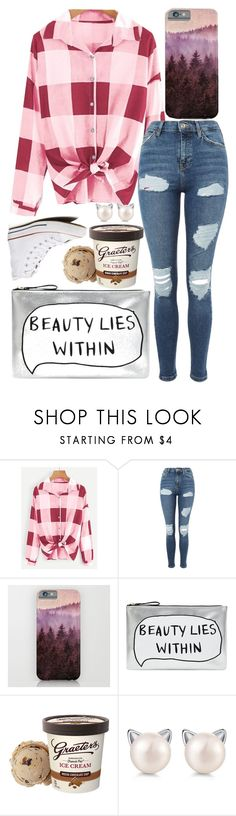 """""""I know it breaks your heart"""" by sarah-rose-312205 on Polyvore featuring Topshop, Accessorize and Converse"""