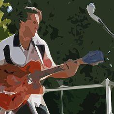 The Extraordinary Country Singer : modern or abstract painting  : Ducky-Jim-Trio  01 (c)((t) with le panasonic fz 1000  285.000 photos by Olavia Olao - Okaio Créations 2014
