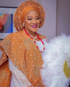 Say what….here are some fabulous Aso-Oke looks for the bride who wants to make a wow statement on her wedding day! New designs are popping out each and every day…