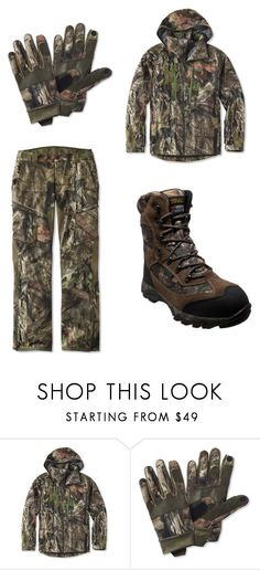 """Hunting Gear"" by boots4sale on Polyvore featuring L.L.Bean, men's fashion, menswear, camo, hunting and boots4sale"