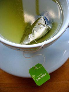 I do love green tea.