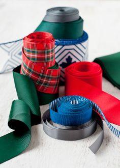 Christmas Ribbons and Bows   visit designmom com
