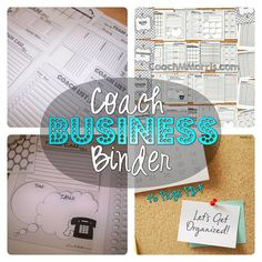 Custom Team Planners Beachbody Business by ToInsanityAndBack
