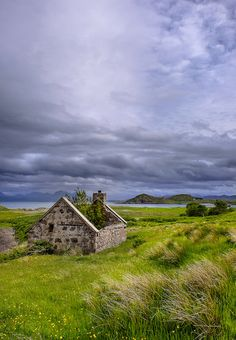 Abandoned cottage near Loch Ewe, Wester Ross, Scotland by matt lethbridge Places To Travel, Places To See, Scottish Cottages, Wester Ross, Europe, Scottish Highlands, Scotland Travel, England, Landscape Photos