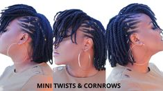 IG: @opaglamz Natural Hair Twists, Natural Curls, Natural Hair Styles, Bantu Knot Hairstyles, Faux Hawk Hairstyles, Natural Hair Recipes, Natural Hair Tutorials, Braids Tutorial Easy, Perm Rod Set