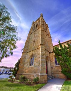 Trinity Episcopal Church Bell Tower.    Photographic Print        http://www.BillHeller.com