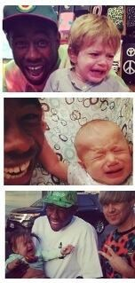 Tyler is great with kids! ;)