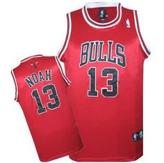 camisetas chicago bulls roja con noah 13 http://www.camisetascopadomundo2014.com/