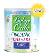 Ruby in the Rough - Review of Baby's Only Organic formula - BPA and corn syrup free!