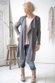 BYPIAS Knitted linen cardigan /@bypiaslifestyle www.bypias.com