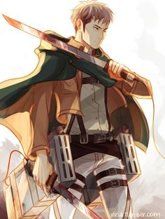You know there ain't no coming back by viria13.deviantart.com on @deviantART  Jean Kirschtein Shingeki no Kyojin Attack on Titan SnK AoT