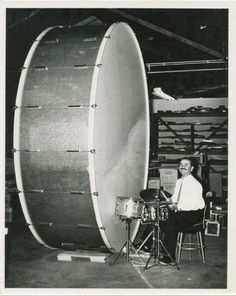 Hey Tommy Lee, is this base drum big enough?