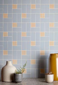 Small Tiles, Wet Rooms, Color Tile, Simple Shapes, Tile Patterns, Contemporary Decor, Kitchen Flooring, Tile Design, Bauhaus