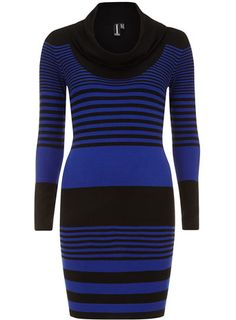 Multi blue striped dress: Dorothy Perkins. Oh, you will be mine, my love.