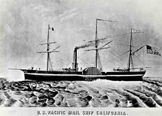 SS California Poster Sharpened - Pacific Mail Steamship Company - Wikipedia, the free encyclopedia