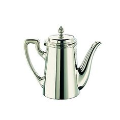 Broggi Rubans Coffee maker with lip Silverplated nickel silver -- You can find out more details at the affiliate link of the image.