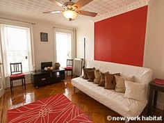 Check out this trendy 1 bedroom apartment in the popular Bed-Stuy neighborhood of Brooklyn. It is equipped with an office space, double windows to pour in that morning sunshine, a fully furnished kitchen & French doors that lead into your cozy bedroom! You also have pleasant views of the neighborhood from these apartment windows :-)