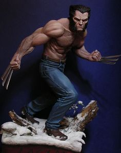 Logan Statue by Joapala.