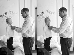 Dads are the best! Dads and sons, getting ready for a wedding.