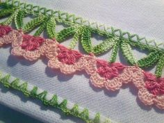 Gorgeous edging. No pattern, but I might be able to figure it out!