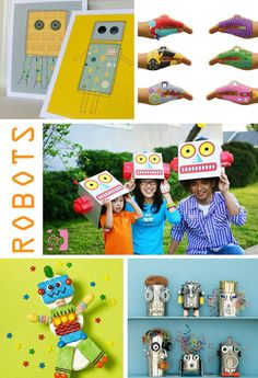 robot birthday party ideas