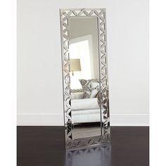 Warrick Standing Mirror at Horchow. Cheval Mirror, Mirror Mirror, Floor Mirrors, Wall Mirrors, Mirror Inspiration, Mirror Ideas, Furniture Inspiration, Loft Interiors, Standing Mirror