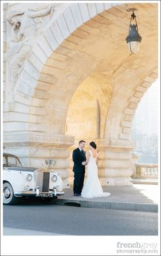Wedding in Paris France | French Grey Events | Elopement: Paris, France. Sheena + Aaron