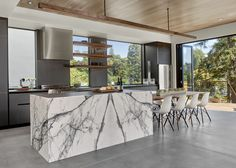 Calacatta Viola marble, Knock Architecture & Design