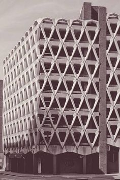 Welbeck Street Car Park. Designed by Michael R Blampied & Partners