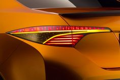 Toyota Furia Concept tail light
