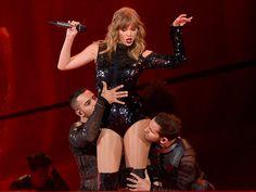 Taylor Swift references Kim, Kanye feud during opening night of 'Reputation' tour