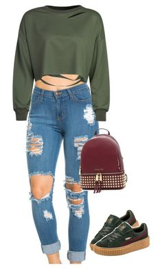 """""""I'll be your daydream, I'll be your favorite things."""" by princess-alexis18 ❤ liked on Polyvore featuring Puma"""