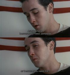 Say Anything is my second favorite love story, maybe even first. 80s Movies, Great Movies, Movie Tv, 80s Quotes, Film Quotes, Famous Movie Quotes, Movies Showing, Movies And Tv Shows, Movie Lines