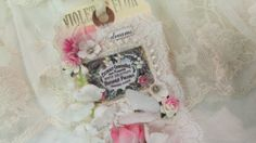 Wedding Gift Tag Handmade Tag Lace Collage by underthenightmoon, $18.00