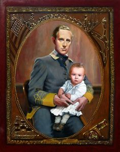 This portrait of Ashley Wilkes and his son, baby Beau Wilkes, are portrayed by Leslie Howard and Patrick Curtis. The Best Films, Great Films, Great Stories, Gorgeous Movie, Leslie Howard, Tomorrow Is Another Day, Olivia De Havilland, Chick Flicks, Gone With The Wind