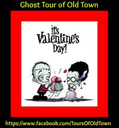 Feel the love! Join us for a romantic Ghost Tour of Old Town... Friday, Valentine's Day, is a FULL MOON. Tours at 8pm & 10pm. Call for reservations: (505) 246-TOUR (8687)
